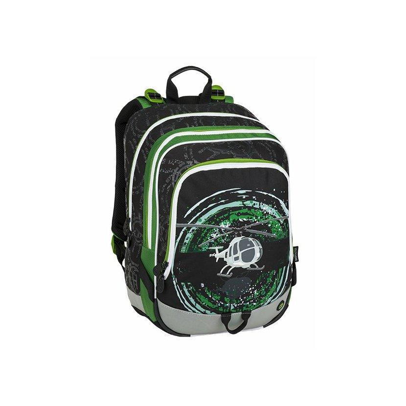 4dd5828dcc ... Bagmaster Školní batoh pro prvňáčky BAGMASTER ALFA 9 D  BLACK GREEN GRAY. http   img.mimishop.cz h ms 295