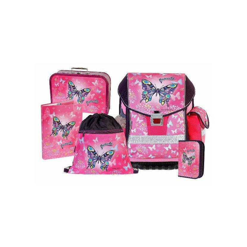 5fd694f02b Emipo Školní batohový set ERGO TWO Butterfly 5-dílný