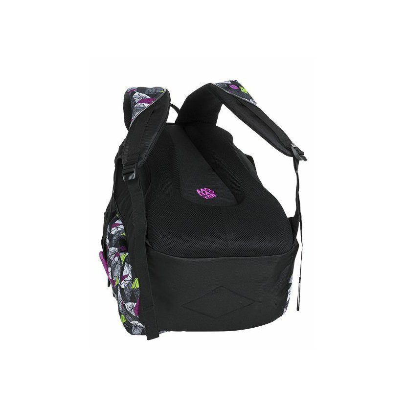 e940fa329e Bagmaster Studentský batoh BAGMASTER BAG 9 B PURPLE GREEN BLACK